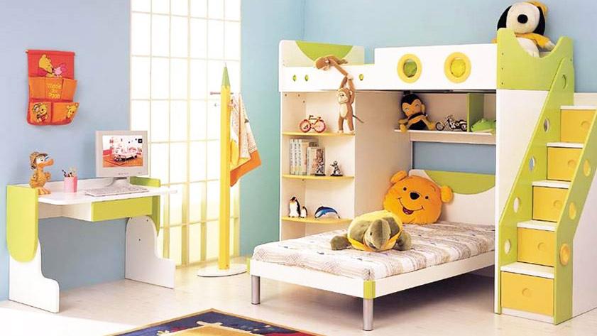 儿童房设计之136平三房便捷生活