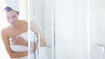 淋浴后的保温性能