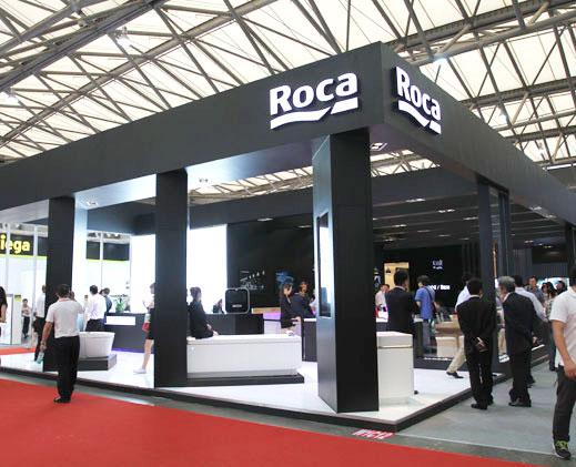 西班牙顶级卫浴品牌ROCA高调亮相上海厨卫展