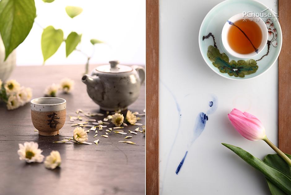 茶唯美图片素材