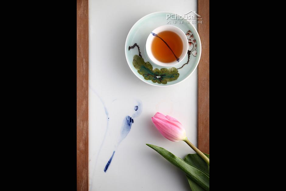 书茶风景唯美图片