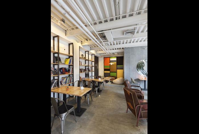 小清新咖啡馆效果图; 透视镜 效果图图片分享;