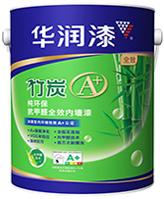 竹炭A+纯环保抗甲醛全效内墙漆