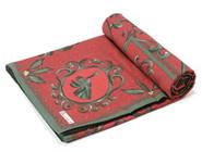 喜庆红色雅致桌布