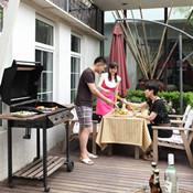 周末户外派对 看园子里的德式风情BBQ