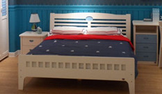 北纬66度实木儿童床
