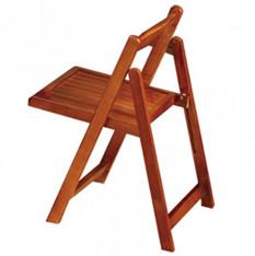 洛克德实木折叠椅省空间