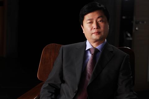 华鹤集团董事长吴雪松采访现场