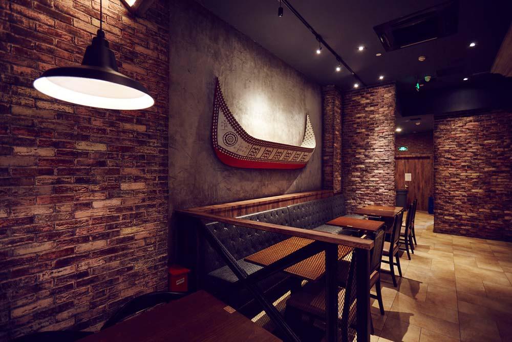 第三空间 | 跨越时空旅程 邂逅360平工业风餐厅