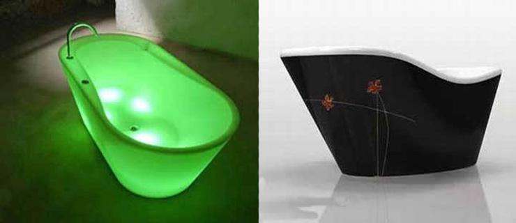 神奇创意洁具 无与伦比的卫浴设计