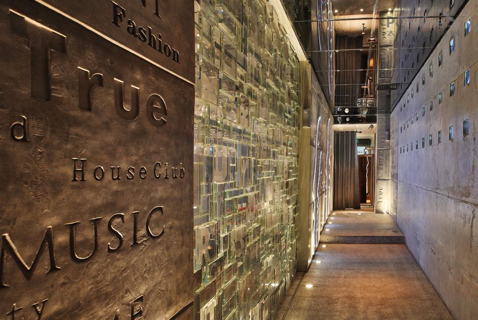 走廊背景墙 设计有样学样