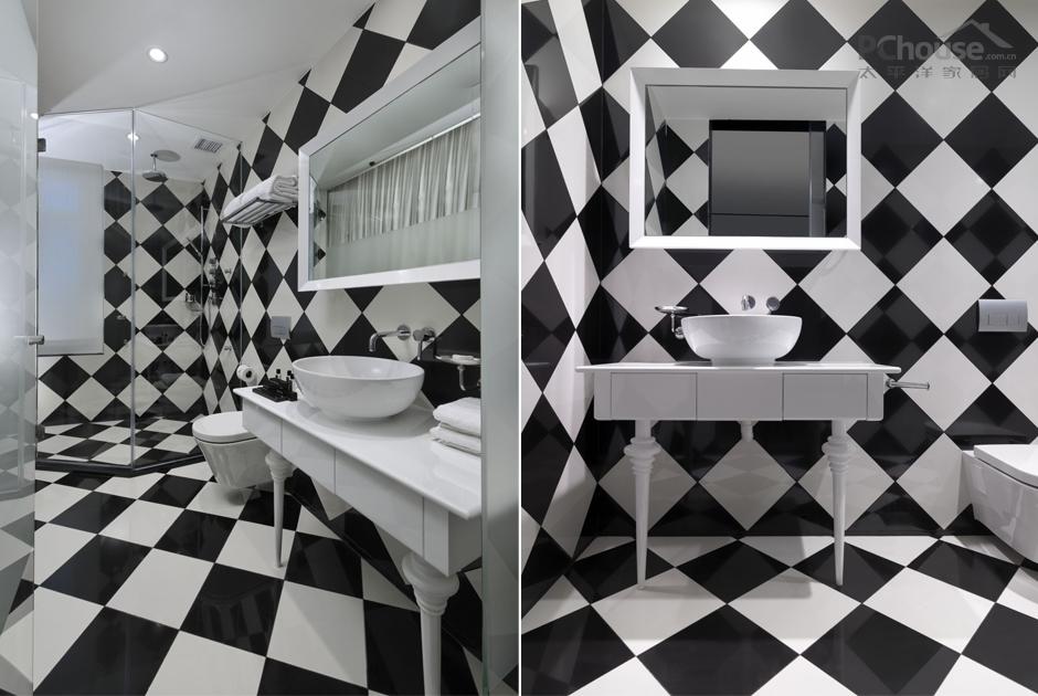 最私密的个性设计 卫浴空间变时尚秀场