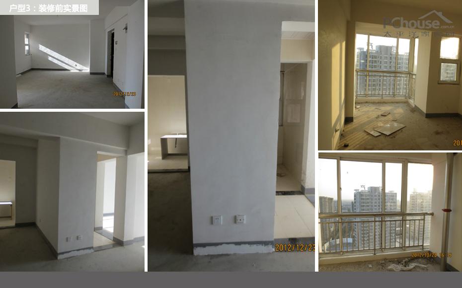 房子建筑面积93平米,实用面积71平米,二居室,硬装修预算3万,软装修