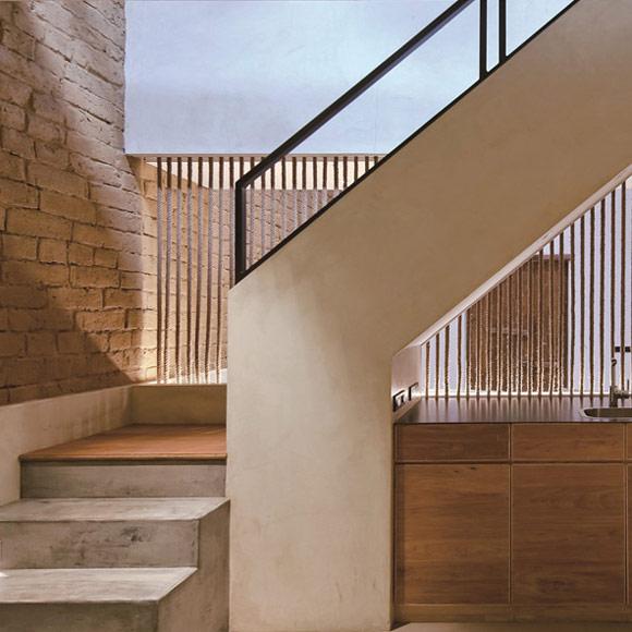 建筑局部楼梯现代风景
