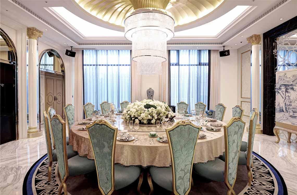 欧式宴会厅假窗户装修效果图
