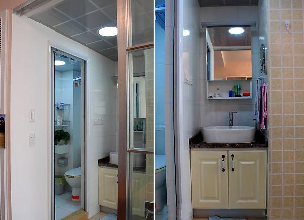 3招帮您搞定小户型卫生间设计