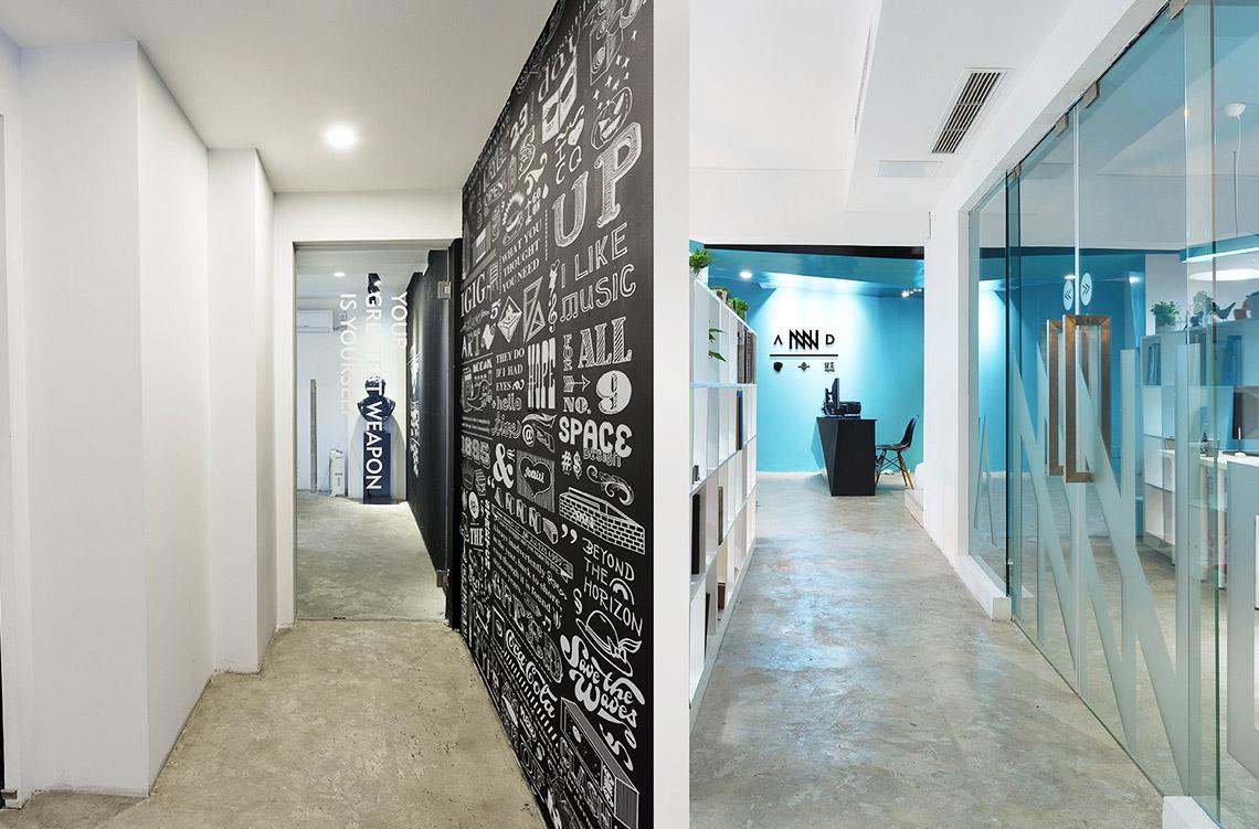 休闲区域    ANNND共和是重庆最具创意活力的跨界团队,由年轻大胆的蒲辉杰、屈慧颖和冉旭等人共同创建,他们信仰设计,并坚信设计能够改变世界,致力于将商业和艺术相互交融,凭借多年探索,开拓了多领域跨界交互的创意平台。旗下集聚了在业界具有声望的旋木室内设计、优品公关、山与山品牌等机构,形成强大的品牌整合管理资源平台,为本土一线以及跨国品牌提供可靠的市场经验与在地服务.