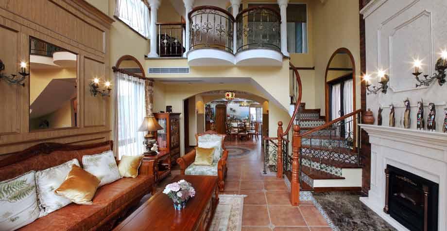双层欧式别墅设计