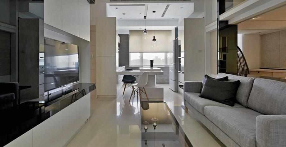现代loft风格公寓设计