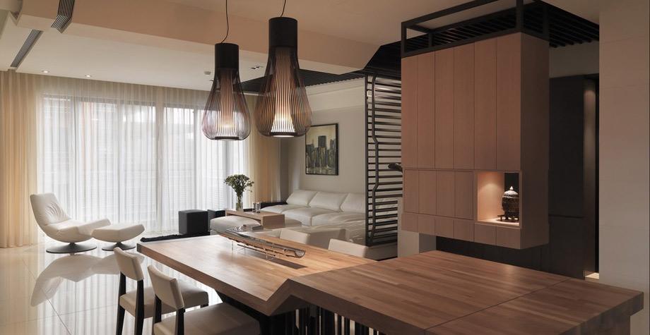46平方复式公寓装修图