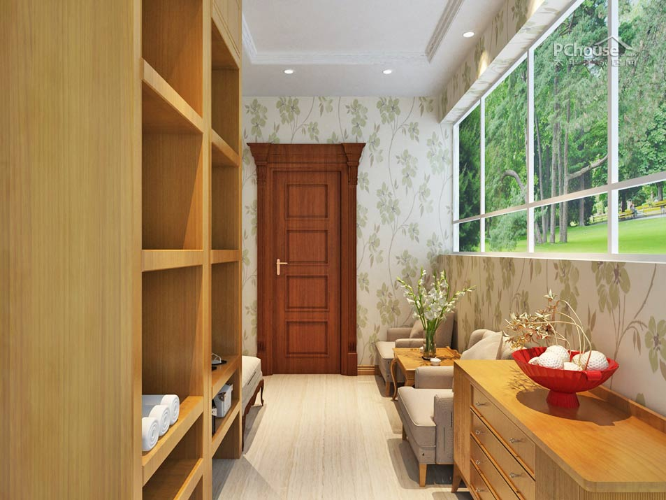 收纳改造最强示范 84平中式田园风格婚房