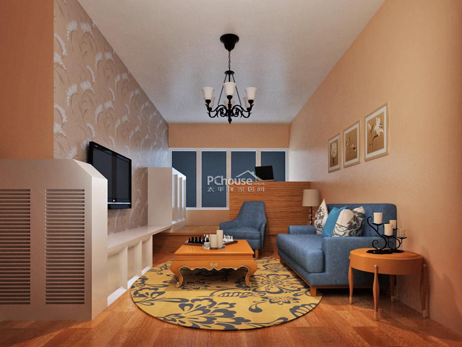 造福小户型婚房 规划62平一居室小宅