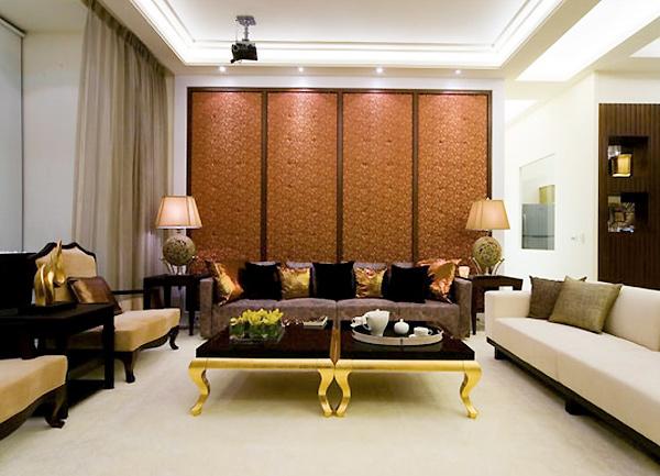 大户型更实用 3招搞定沙发背景墙设计