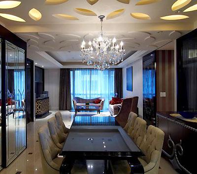 3招搞定餐厅吊顶设计家装大讲堂 设计大学