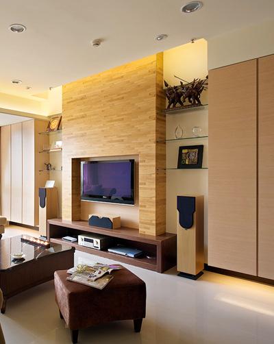 定制家具的收费与板材推荐; 收纳 美观 个性 客厅电视柜设计攻略图片