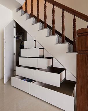 楼梯旮旯收纳秘籍公开