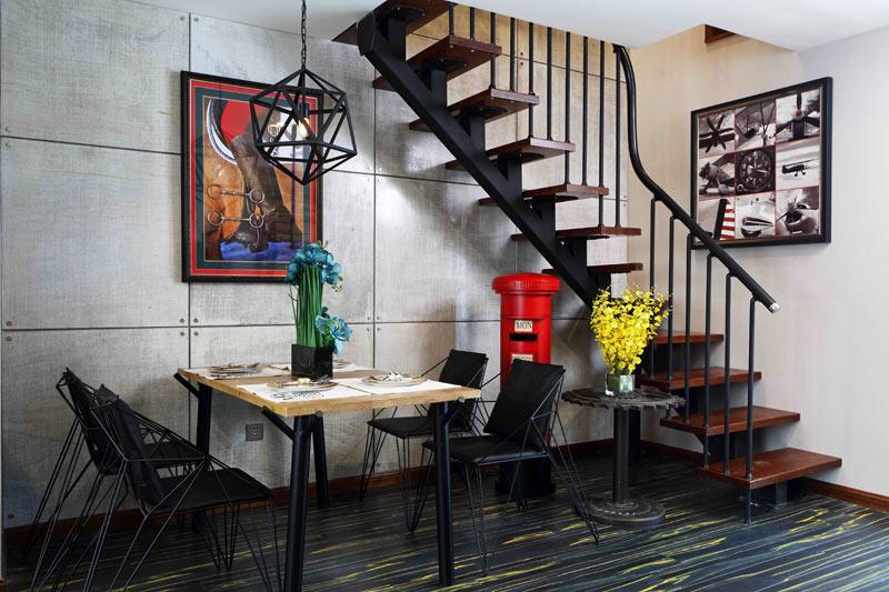 loft工业风楼梯