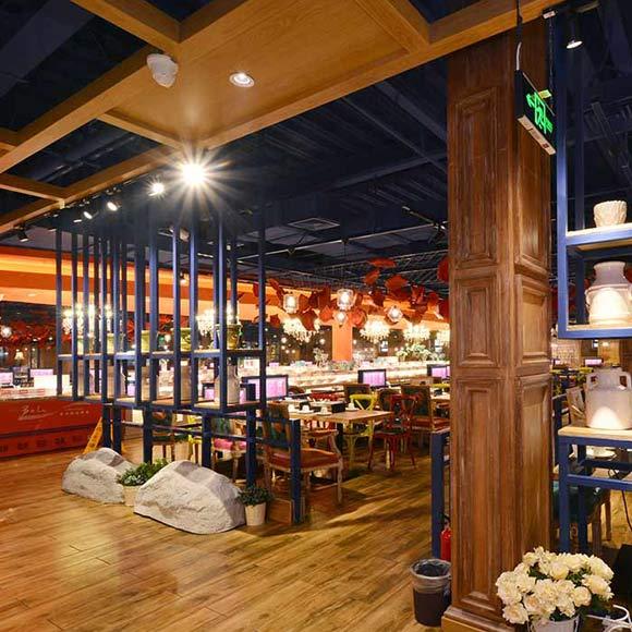 北京玫瑰园餐厅设计_设计会客厅