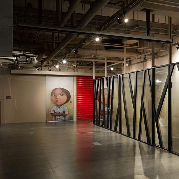 用美术馆概念设计现代诊所_设计会客厅设计榜样__家居
