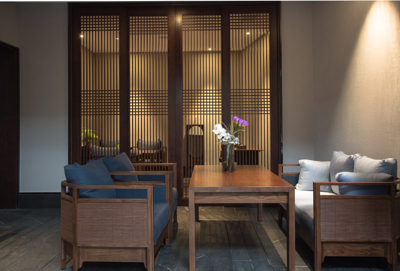 禅意茶室设计平面图
