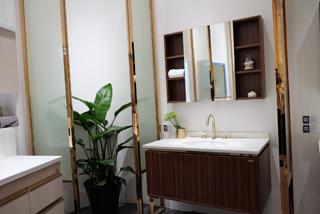 安华新中式浴室柜
