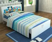 酷漫居3D迪士尼儿童床