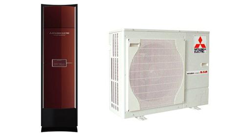 三菱电机柜式冷暖变频空调
