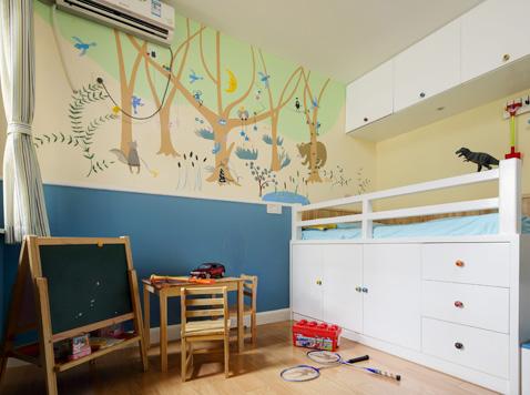 画板漆让孩子随心涂写