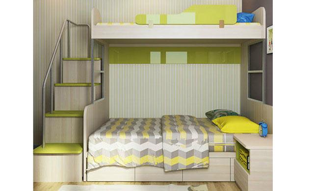 索菲亚儿童床上下床双层床高低床