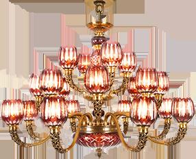 诺克照明 镂空精雕欧式吊灯