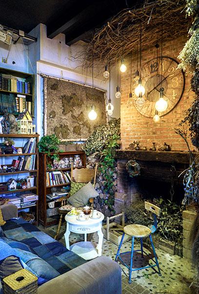 书房和露台连在一起 露台是举办派对的好地方