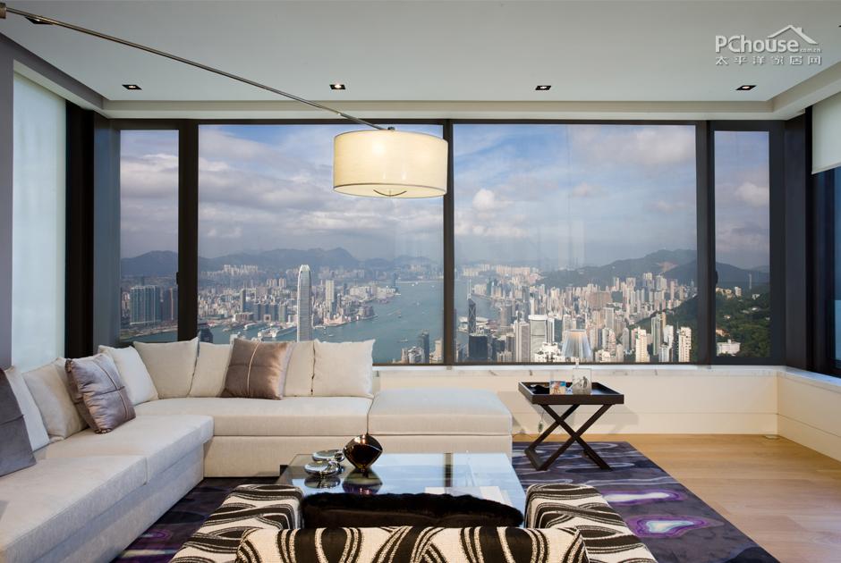 香港山顶旧宅 4千万打造海景复式公寓