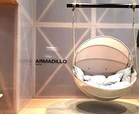 Armadillo简约吊椅