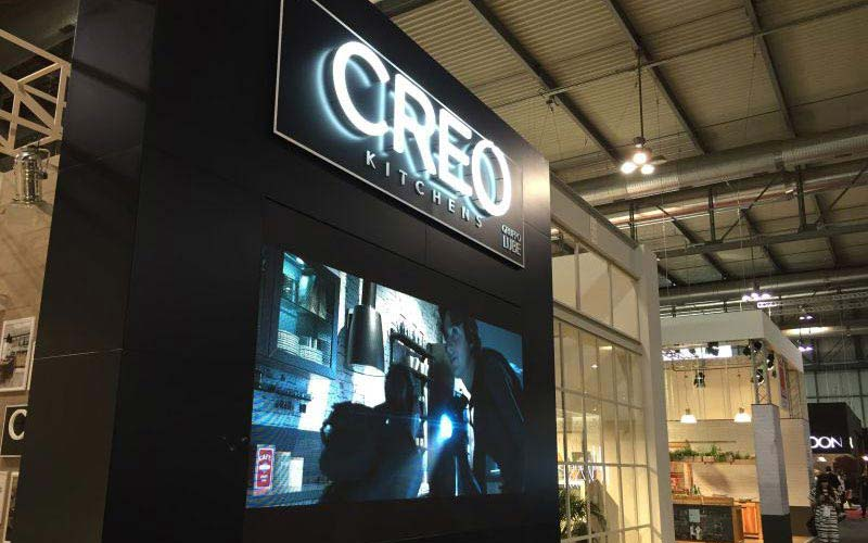 CREO KITCHENS展位
